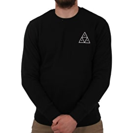 Huf Essentials TT Crew Neck - Black