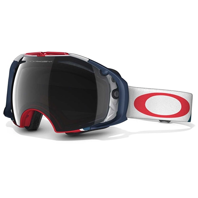 Oakley Airbrake Flight Series Snow Goggles - Dark Grey