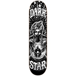 Darkstar Skateboard Deck - Fortune Black/White 8.25