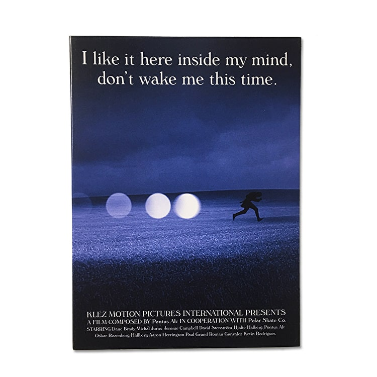 "Polar ""I Like It Here Inside My Mind, Don't Wake Me This Time"" Skateboard DVD"