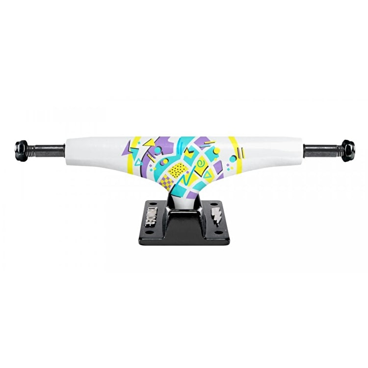 Thunder Hi 147 New Wave Skateboard Trucks - White (Pair)