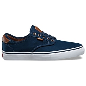 Vans Chima Ferguson Pro Skate Shoes - (Brushed Twill) Navy