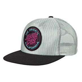Santa Cruz Cali Dot Colour Cap - Grey/Black