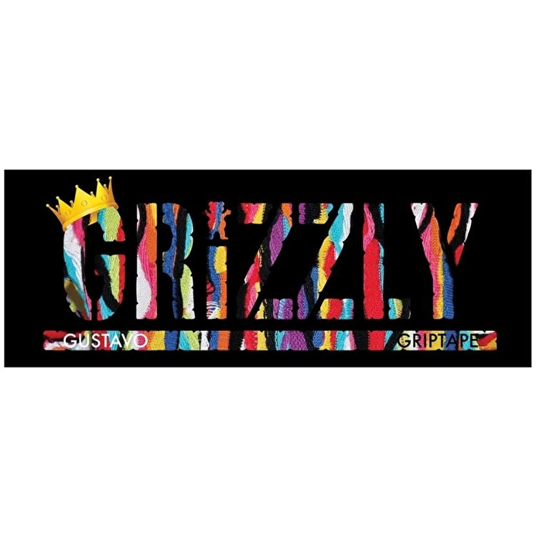 Grizzly Gustavo Stamp Sticker