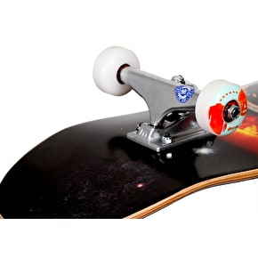 Foundation Star and Moon Sun Flare Custom Skateboard 8.25