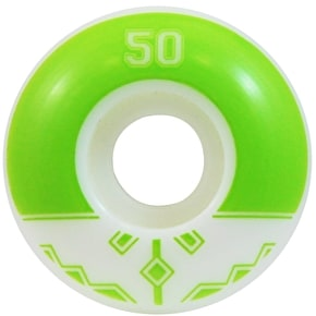 Fracture Uni Classic Skateboard Wheels - Green 50mm