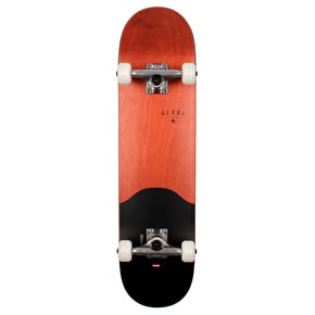 Globe Agro Complete Skateboard - Red Maple/Black 7.75