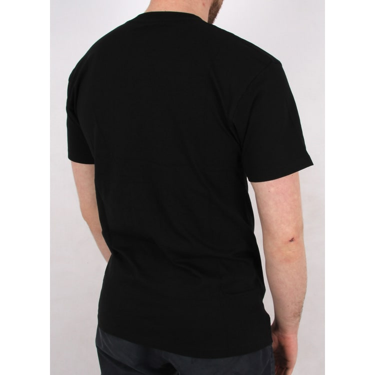 Vans Left Chest Logo T-Shirt - Black