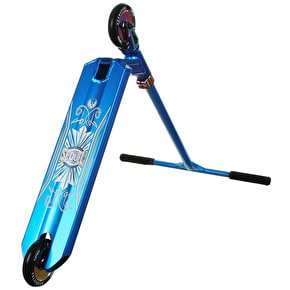Phoenix x Blunt Custom Scooter - Blue/Neochrome