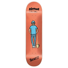 Almost x Jean Jullien Skateboard Deck - R7 Youness 8