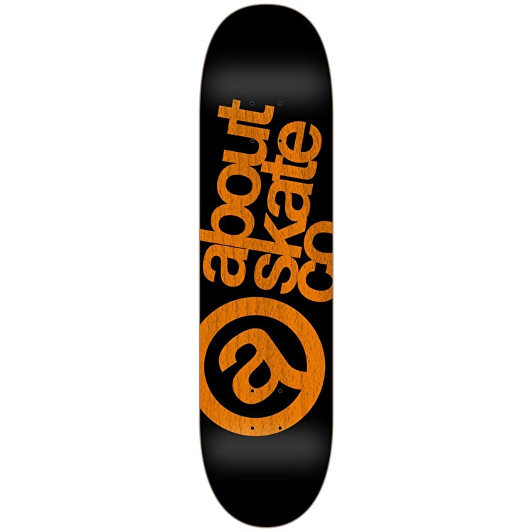 About Monochrom Series 3co Skateboard Deck - Orange 8""
