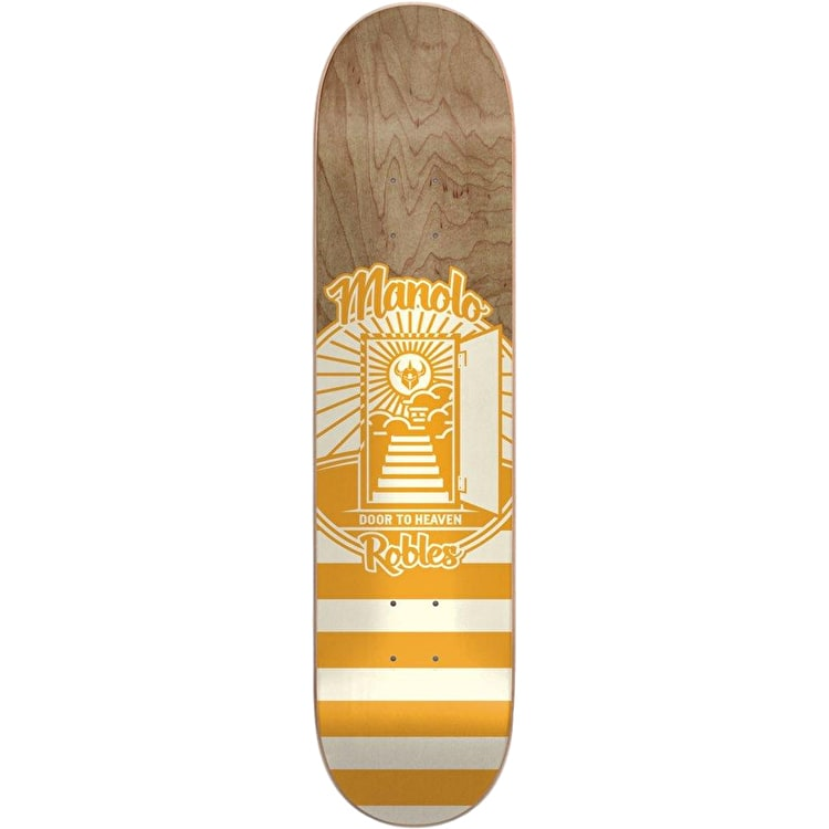 "Darkstar Lockup Robles Skateboard Deck 8.25"" - Natural"