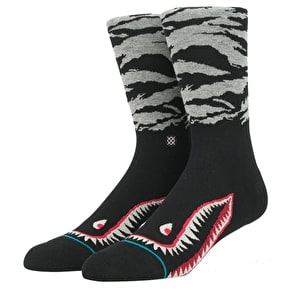 Stance Warhawk Socks - Black