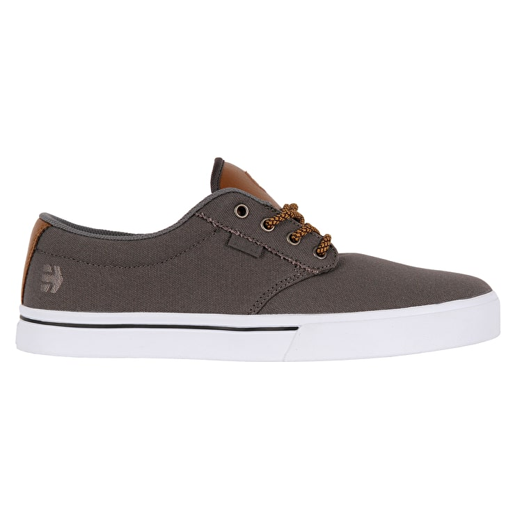 Etnies Jameson 2 Eco Skate Shoes - Grey/Brown