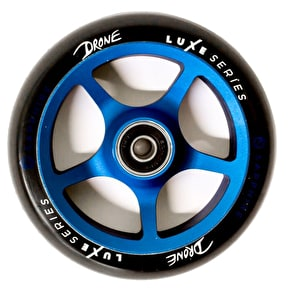 Drone Luxe Series 120mm Scooter Wheel - Blue