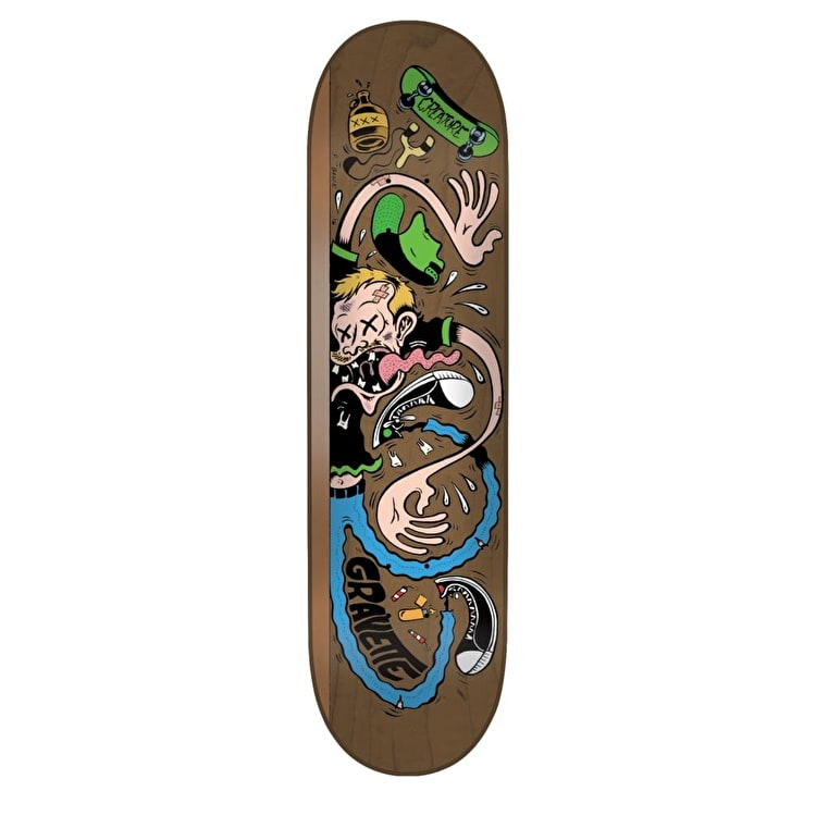 Creature Pro Bagge It Gravette Skateboard Deck - 8.2""