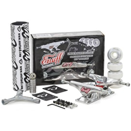 Enuff Decade Pro Skateboard Undercarriage Set - Polished