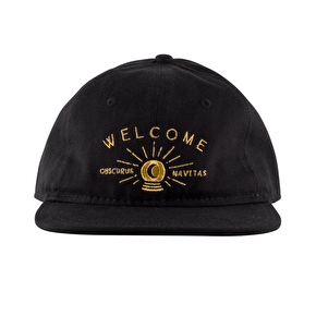 Welcome Dark Energy 6-Panel Slider Cap - Black/Gold