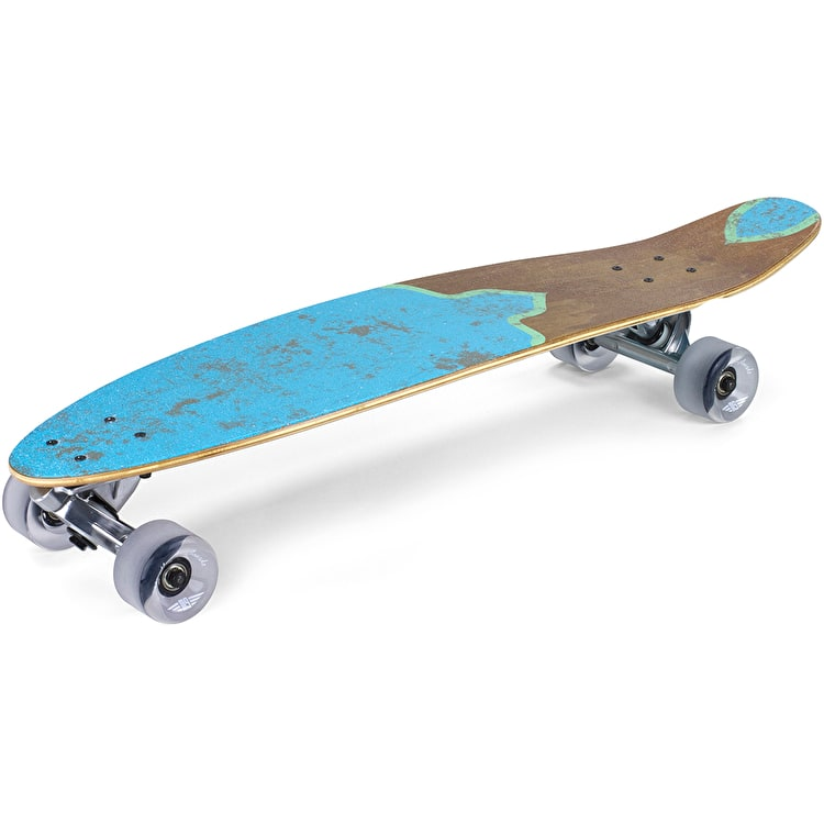 Mindless Raider V Complete Longboard - Natural/Teal
