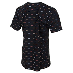 Organika Crossover Custom T-Shirt - Black