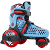 SFR Stomper Adjustable Junior Boy's Skates - Blue/Red