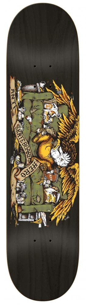 Image of Anti Hero Obese Eagle Skateboard Deck - 9""