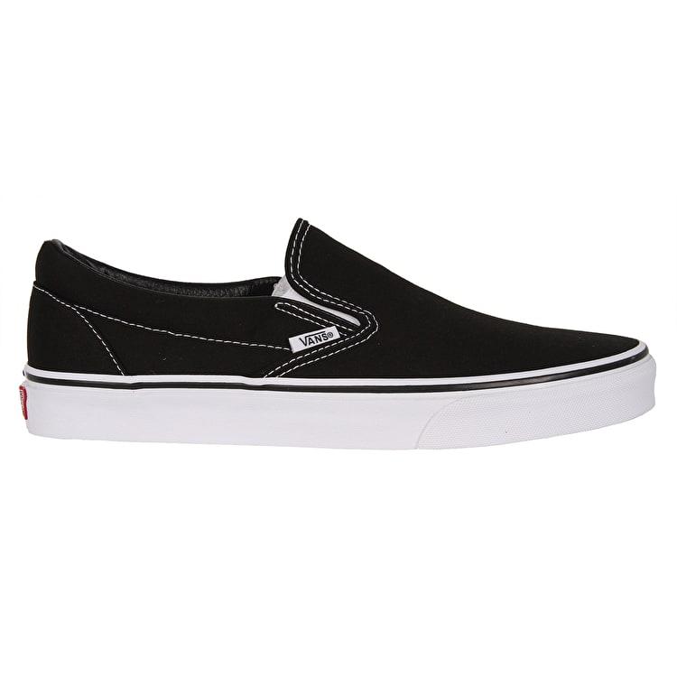 Vans Classic Slip-on Shoes - Black/White