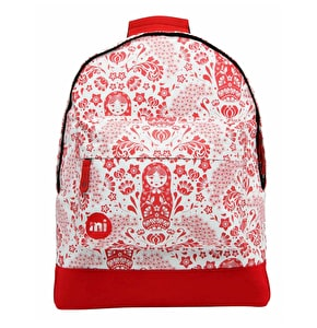 Mi-Pac Backpack - Russian Dolls Natural/Red