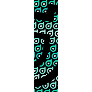 District Scooter Logo Repeat Grip Tape - Turquoise