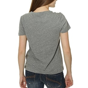 Vans Timeless Womens T-Shirt - Grey Heather