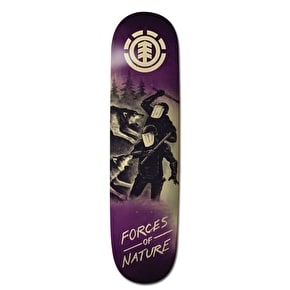 Element Forces of Nature Skateboard Deck - Wolf 8.375''