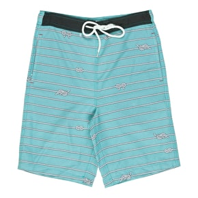 Neff High Seas Shorts - Aqua
