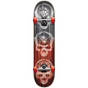 Darkstar Addiction Complete Skateboard - Red Fade 8