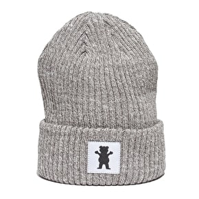 Grizzly Squared OG Bear Beanie - Grey