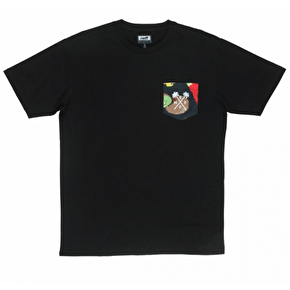 Neff Hard Fruit Pocket T-Shirt - Black