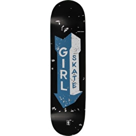Girl Sign Painter Skateboard Deck - Andrew Brophy 8.125