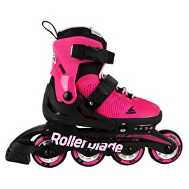 Rollerblade Microblade Girls Adjustable Inline Skates - Pink/Bubblegum