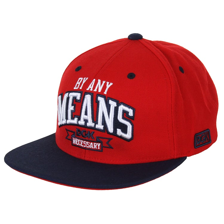 DGK By Any Means Cap - Red/Navy