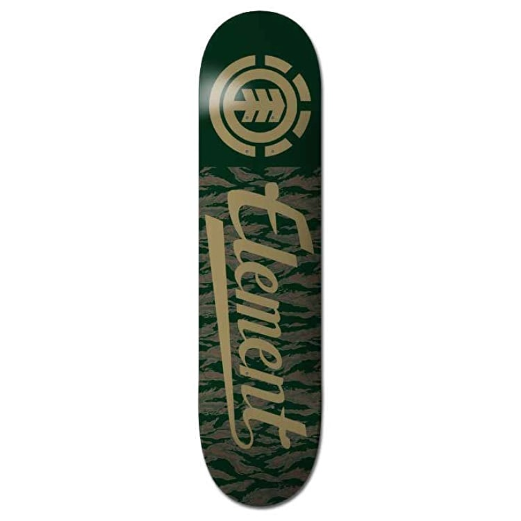 Element Tiger Script Skateboard Deck - 8.25""