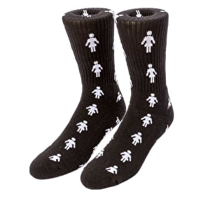 Girl Pepper Socks - Black
