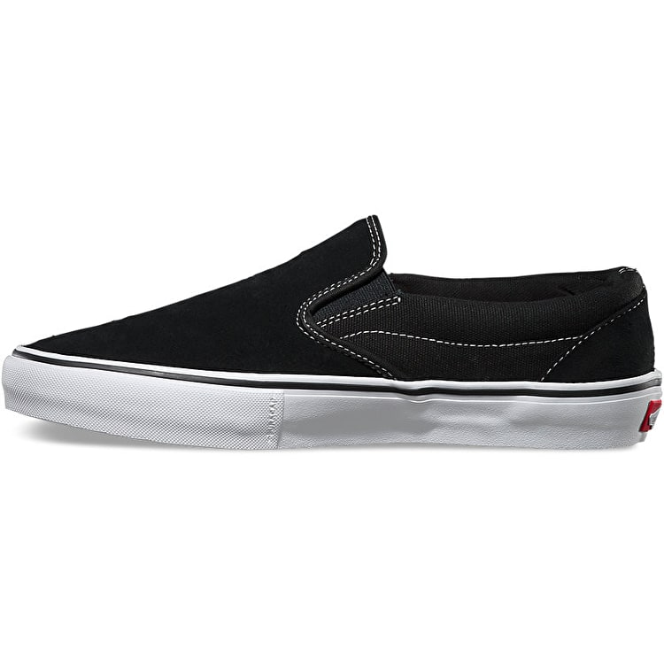 Vans Slip-On Pro Skate Shoes - Black/White/Gum