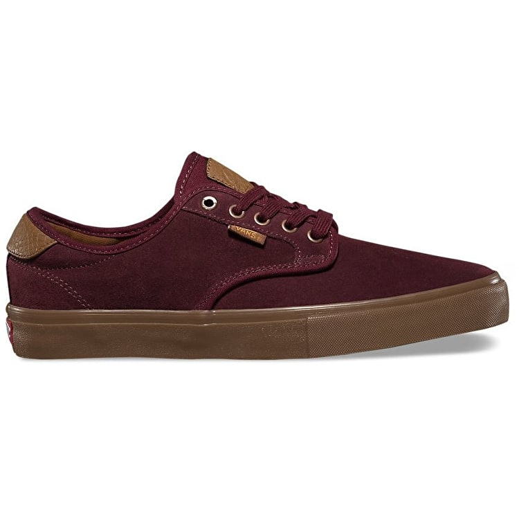 Vans Chima Ferguson Pro Skate Shoes - Port/Cabernet/Gum