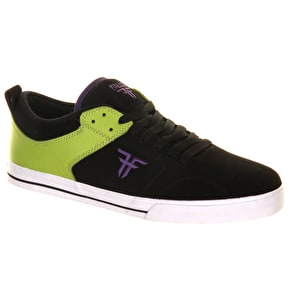 Fallen Clipper Shoes - Black/Lime/Purple