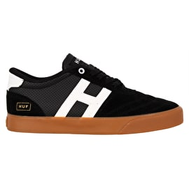 Huf Galaxy Skate Shoes - Black/Gum