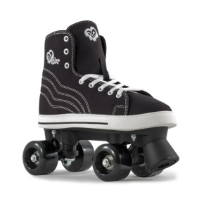 Rio Roller Quad Skates - Canvas Black