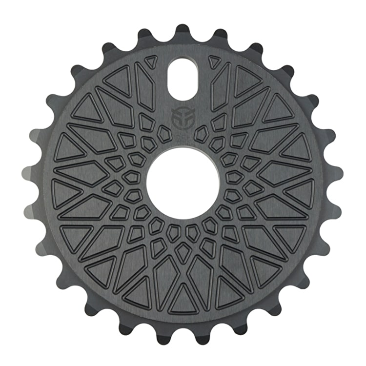 Federal BBS Solid 25 Tooth BMX Sprocket - Black