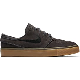 Nike Stefan Janoski (GS) Kids Skate Shoes - Thunder Grey/Black Gum/Light Brown