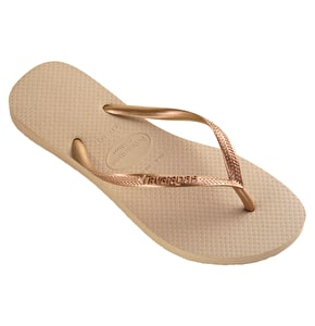 Havaianas Ladies Slim - Sand Grey / Light Golden