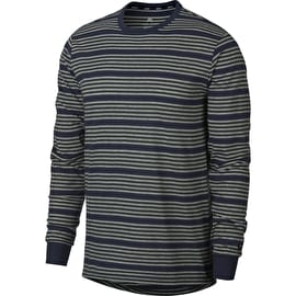 Nike Dry Long Sleeve T Shirt - Obsidian