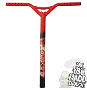 MGP Hot head Batwing Scooter Bars - Red